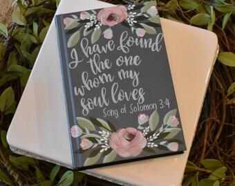 Hand Painted Bibles | Wedding Guest Book Alternative | Wedding Gift | Custom Options | Home Decor Keepsake