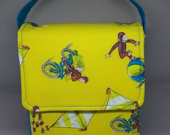 Insulated Lunch Bag, Curious George