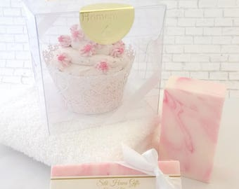 Cherry Blossom Bath and Body Soap With Mango Butter and Coconut Milk