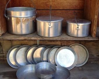 Aluminum Pots Etsy