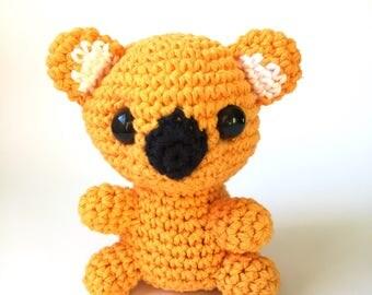crochet amigurumi Koala toy, Stuffed Toy, Plush, Plushy, Stuffed Animal, Toy, Stuffed koala, baby toy, Baby Shower Gift, crochet amigurumi