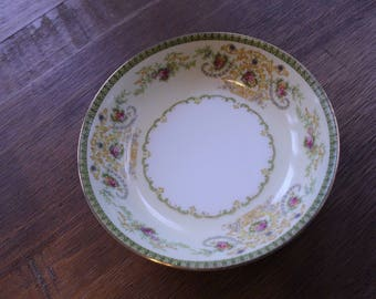 Vintage Meito F&B China Charm Pattern Fruit Bowls Set 5 Made Japan