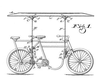 Canopy Attachment for Motorcycles Patent #988349 dated April 4, 1911.