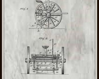 Revolving Stalk Cutter Patent #781582 dated January 31, 1905.