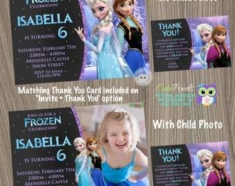 Frozen Birthday Invitation, Disney Frozen, Frozen Invitation, Elsa Invitation, Frozen Birthday, Frozen Party, Frozen Birthday, CutePixels