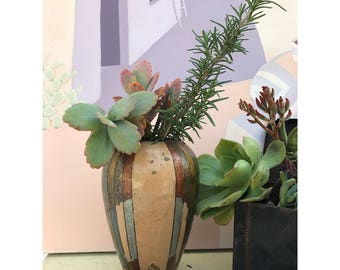 Vintage Vase -- Brass Vase -- Indian Brass -- Vintage Brass Vase -- Indian Brass Vase -- South Western Vase