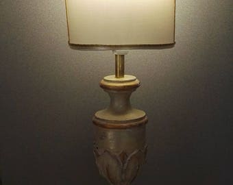 Abat Jour-wood lamp-table lamp idea Gift