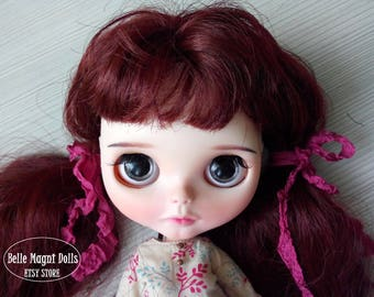 Custom Blythe Dolls For Sale by Ruby - OOAK Blythe custom doll from Belle
