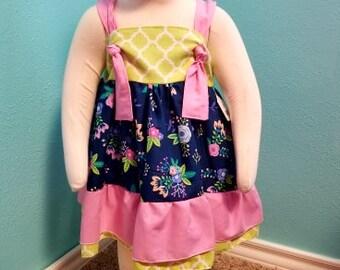 Girls Dresses, girls clothes, girls clothing, girls spring dress, girls floral dress, girls pink dress, dress for girls, toddler dress, baby