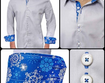 Mens Winter Accent Dress Shirts - Made in the USA