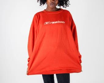 Veste reebok rouge femme
