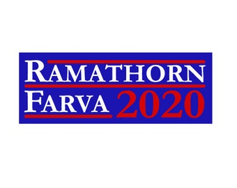 Ramathorn Farva 2020 Sticker