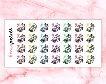 A016 | Shoes Stickers - Daily Planner Stickers, Diary Stickers, Journal Stickers, Scrapbook stickers