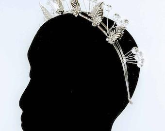 Silver Statement Headband