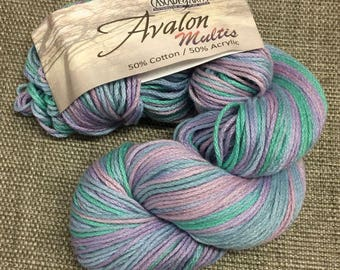 Cascade Avalon Multi Color Cotton/Acrylic Worsted Weight Colors (several discontinued)