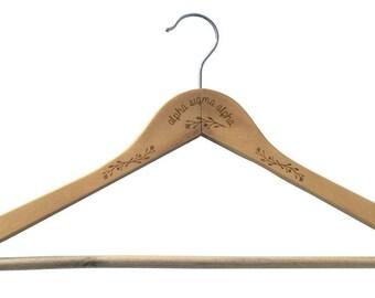 Alpha Sigma Alpha Clothes Hanger
