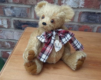 Bailey, One of a kind collectable, Mohair Artist bear by Bearlescent