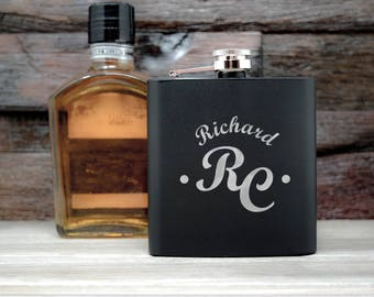 Personalized Flask Initials. Flasks for Groomsman, Christmas Gift, shot glasses, Flask For Men, Flask Set Groomsmen. Groomsmen Flask