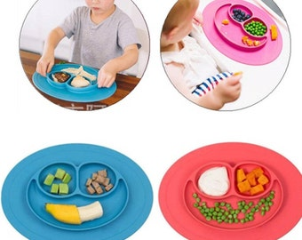 Silicone plate tray