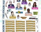 The Good Place TV Show Planner Sticker Kit