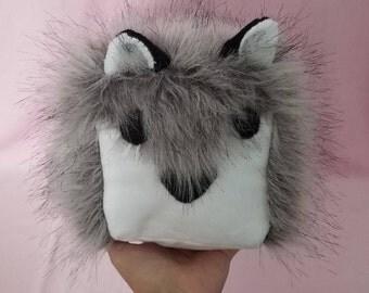 Wolf/Husky Cube Plushie!
