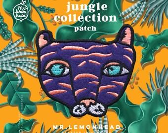 Purple tiger jungle collection