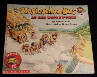 Vintage 1986 The Magic School Bus at the Waterworks - Clean, Very Good