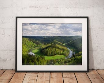 Fine Art Print of the Giant's Tomb, The Ardennes, Wallonia, Belgium - Wall Art - Landscape Photography