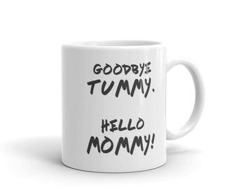 Unique New Mom Gifts, Christmas Gift, Pregnant Gift Ideas, New Mom Mug, Mom Mug, Pregnancy Reveal, Pregnancy Gifts, Coffee Mug, Funny Mommy