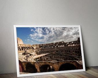 Roman Colosseum, Colosseum, Rome Italy, Rome Print, Italy Photo, Italy Photography, Europe Photography, Travel Photography, Florence Print