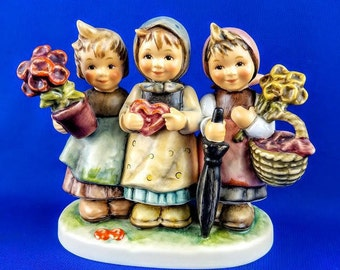 Trio Of Wishes Hummel Figurine