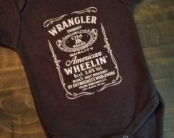 JEEP Baby Onesie - Jeep Wrangler Onesie - Jeep Onesie - Baby Shower Gift
