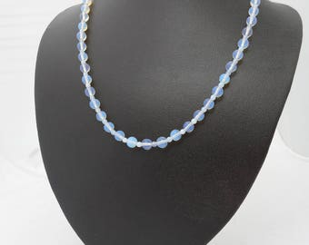 Moonstone and Opalite Necklace