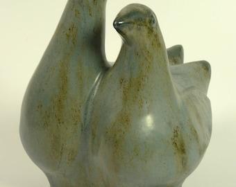 Mid-century Doves, Helmut Schäffenacker style
