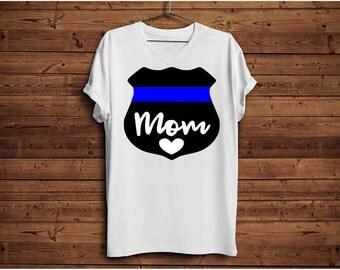 Police mom, Police officer, Back the blue svg, Thin blue line, Blue lives matter, Police badge svg, Police svg, Officer svg, Hero svg