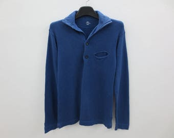 45rpm Shirt Men Size XS 45rpm Pullover 45rpm Studio Sweater Made in Japan Size 1