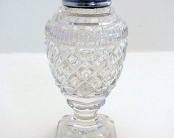 Silver & Glass Jar/Box