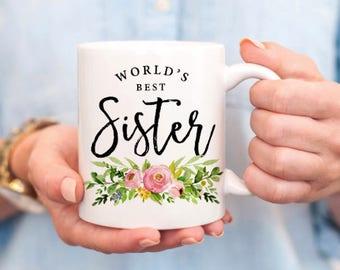 Sister Mug - Sister Coffee Mug - Best Sister - Gift for Sisters - Little Sister Gifts - Big Sister Gifts - Sister Present - Gift for Sister
