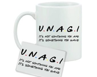 Unagi - Friends Inspired - Funny Quote - Mug and Magnet Gift Set - FREE UK SHIPPING