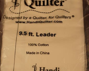 Handi Quilter 9.5 foot leader for longarm quilting.  There are three pieces in this set.