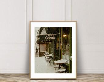 Snowy Cafe Photo