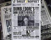 Journal le prophète de Harry Potter