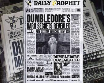 Daily Prophet Newspaper Harry Potter