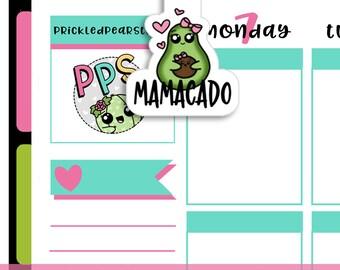 2012   Mamacado Magnetic Bookmark
