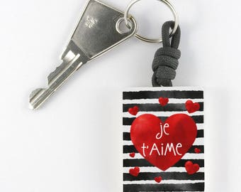"""I love you"" keychain"