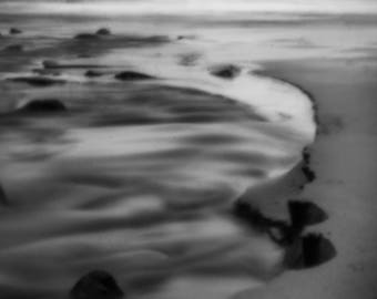Oregon Coast Photography Neskowin Ghost Forest Pacific Northwest Ocean Fine Art Abstract Landscape Pinhole Print