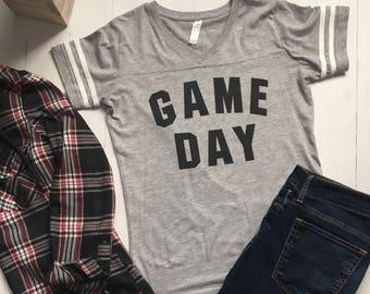 Game Day Shirt. Football Tshirt. Tailgating Shirt. Football Shirt. Womens Football Shirt. Sunday Funday Shirt. College Football