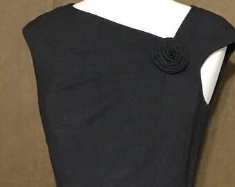 Elegant Pencil Dark Grey Dress  By Jones Wear Dress Size 8 Women's Office or business Attire Pencil Dress