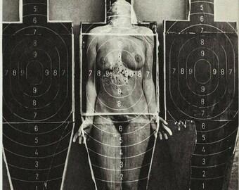 vintage erotic poster - sex vagina nude erotic