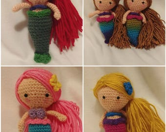 Crochet mermaid Dolls II